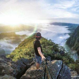 Mt. Pamitinan sun rise
